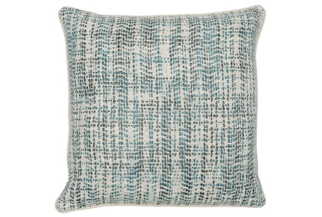 Accent Pillow-Mallard And Ivory Tweed 22X22 - 360