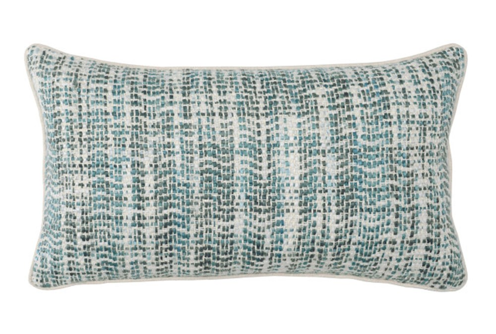 Accent Pillow-Mallard And Ivory Tweed 14X26