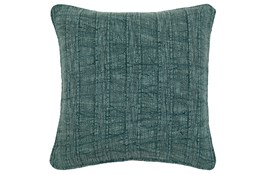 Accent Pillow-Heritage Linen Mallard Green 22X22