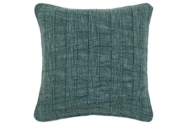 Accent Pillow-Heritage Linen Mallard Green 22X22 - 360