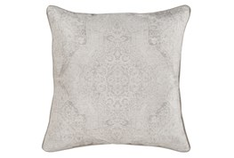 Accent Pillow-Faded Madallion Natural 22X22