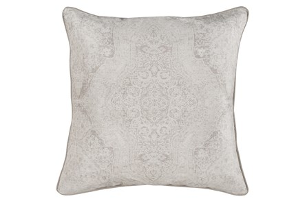 Accent Pillow-Faded Madallion Natural 22X22 - Main