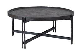 Reclaimed Elm & Cast Iron Coffee Table