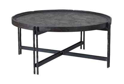 online retailer ab00e 0151a Reclaimed Elm & Cast Iron Coffee Table