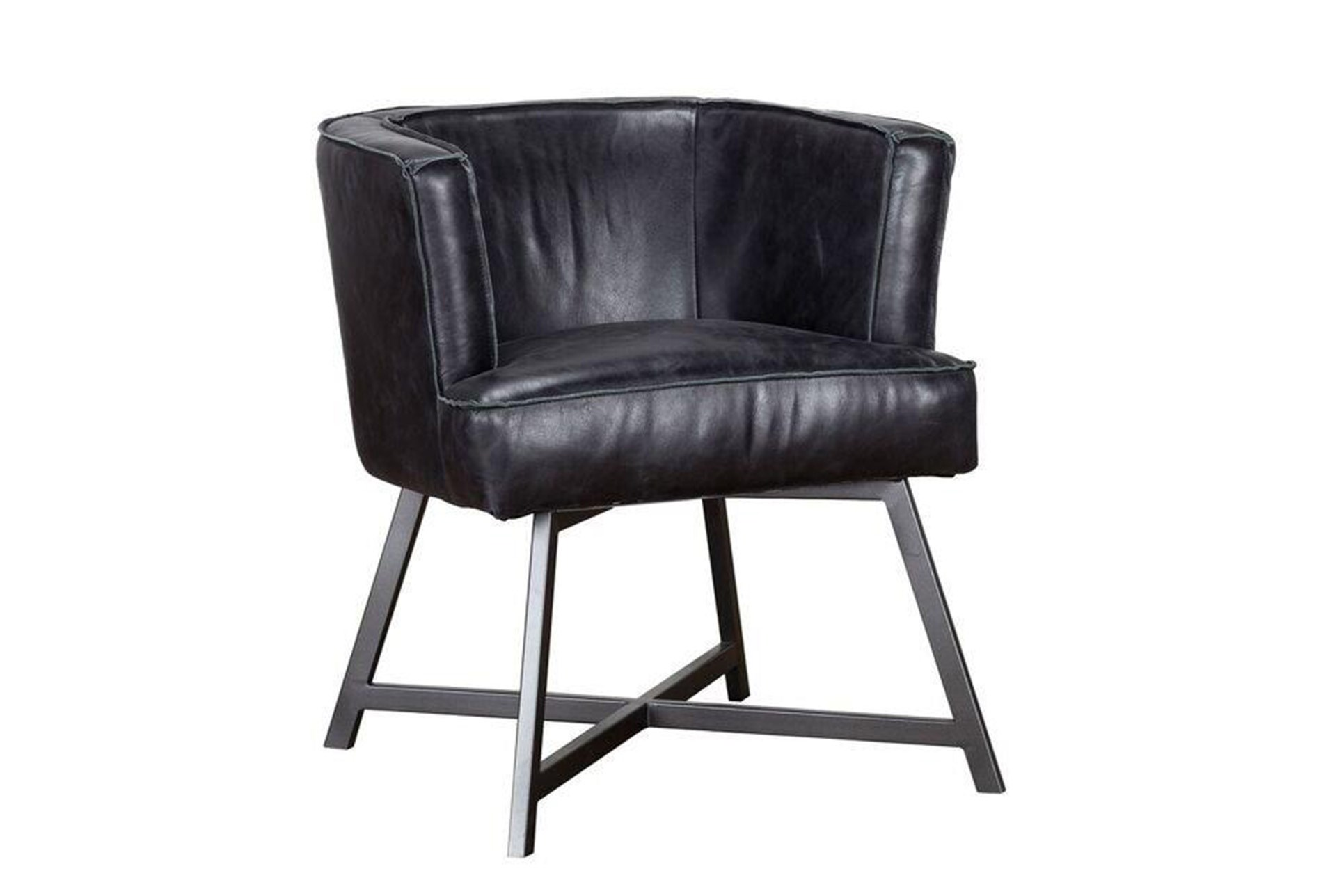 Excellent Chair Black Leather Accent Chair Ocoug Best Dining Table And Chair Ideas Images Ocougorg