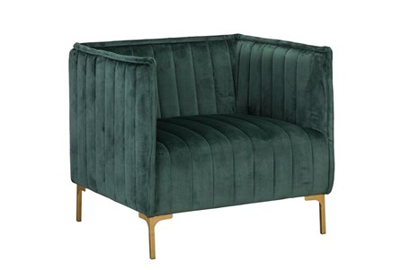 Emerald Channel Club Chair