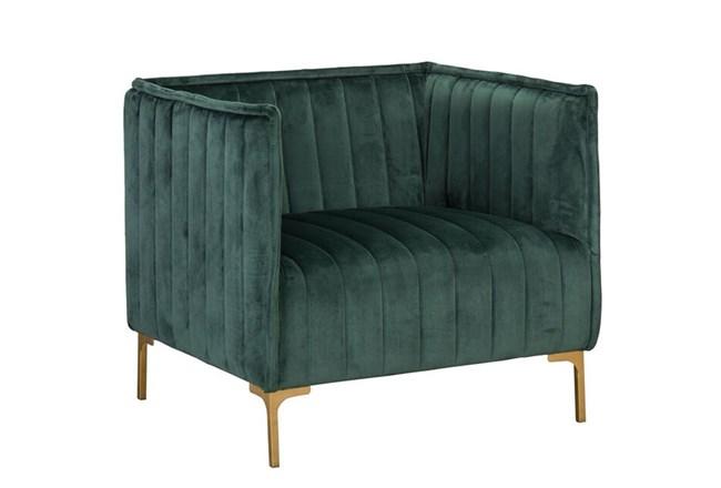 Emerald Channel Club Chair - 360