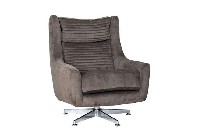 Charcoal Swivel Chair - 360