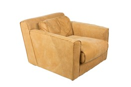 Top Grain Leather Arm Chair