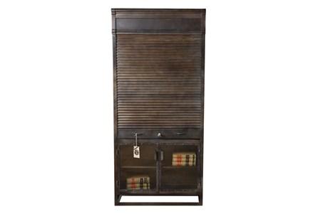 Iron Shutter Bar Cabinet