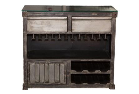 Metal Bar Cabinet