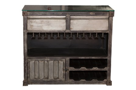 Metal Bar Cabinet - Main