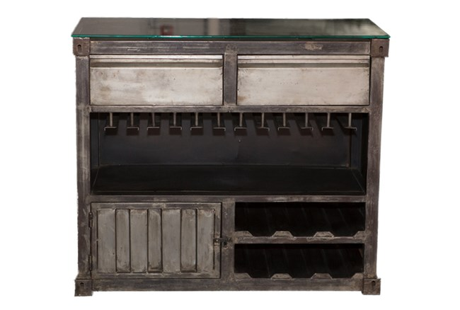 Metal Bar Cabinet - 360
