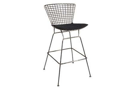 Metal Caged Bar Stool