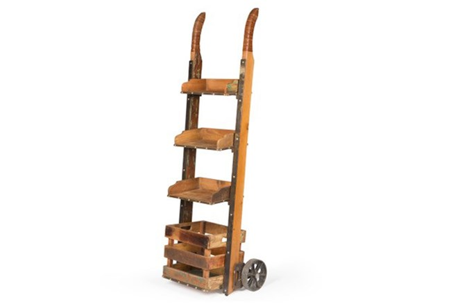 Ladder Bookcase With Wheels - 360