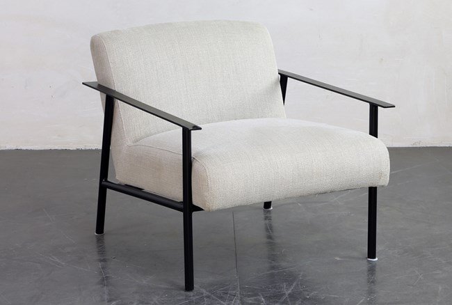 Metal Frame Accent Chair - 360