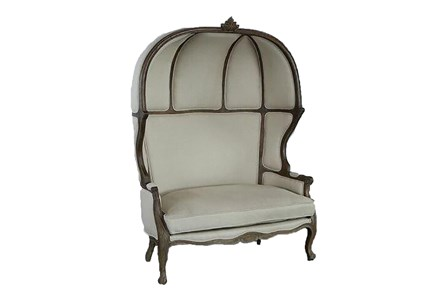French Canopy Accent Chair