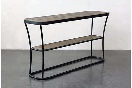 Metal + Wood Console Table - Main