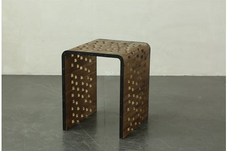 Perforated End Table