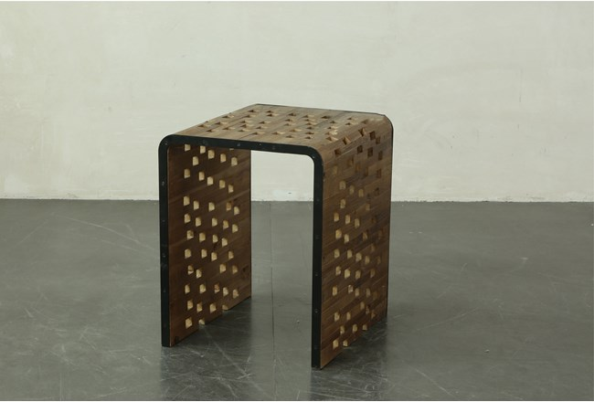 Perforated End Table - 360