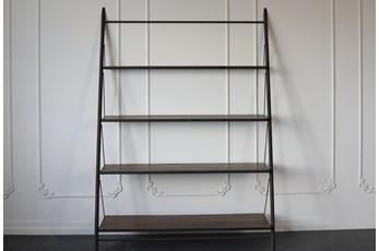 "Metal Frame 83"" Bookcase"