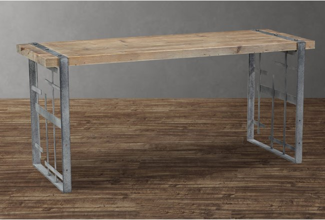 Steel And Wood Desk - 360