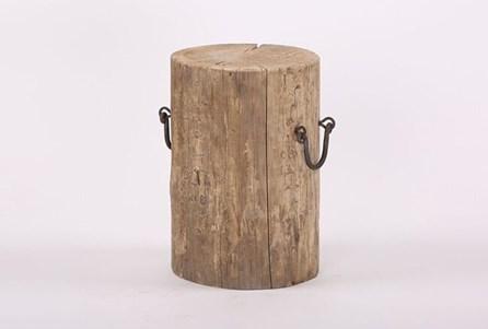 Reclaimed Round Stump Stool