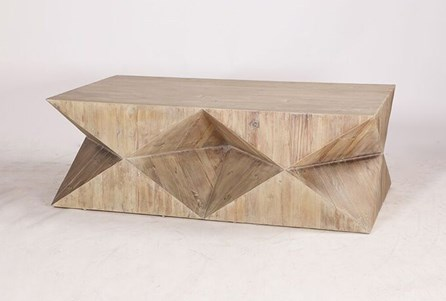 Geo Faceted Coffee Table