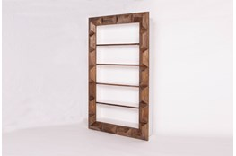 Geo Faceted Bookcase