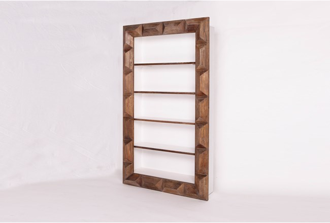 Geo Faceted Bookcase - 360