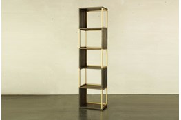 Geo 78 Inch Bookcase