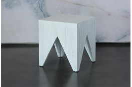 Triangle Leg End Table Small