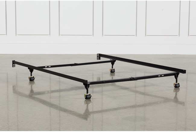 Revive Steel Frame With Rollers Twin/Full 4 Leg With Locks - 360