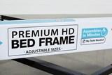 Revive Steel Frame W/Rollers Qn/Ck/Ek 6-Leg/Center/Glide - Feature