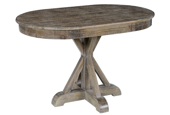 Pine Wood Brown Dining Table - 360