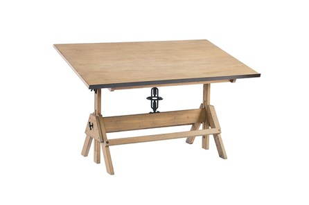 Magnolia Home Blueprint Drafting Table By Joanna Gaines - Main
