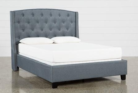 Farrah Queen Upholstered Panel Bed