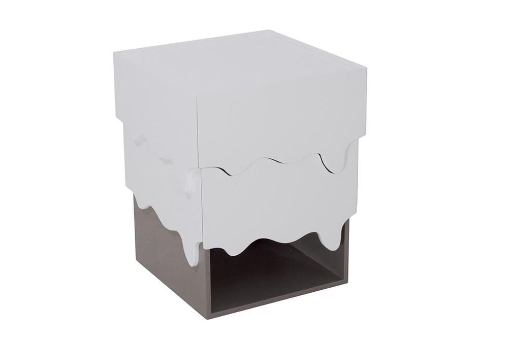 Liquid Drawer End Table