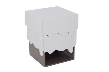 Liquid Drawer End Table