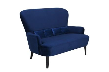 Mid Century Navy Sofa