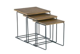 Magnolia Home Traverse Salvage Nesting End Tables By Joanna Gaines