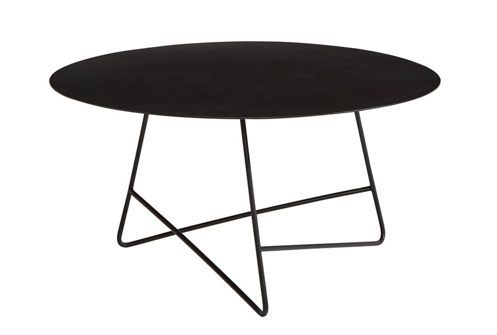 Magnolia Home Traverse Carbon Round Coffee Table By Joanna