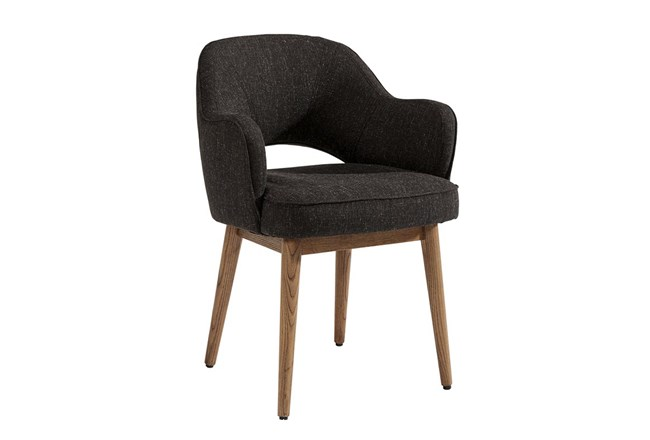 Magnolia Home Hamilton Charcoal Dining Side Chair By Joanna Gaines - 360