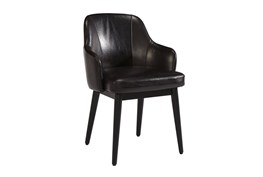 Magnolia Home Adler Old Saddle Black Side Chair By Joanna Gaines