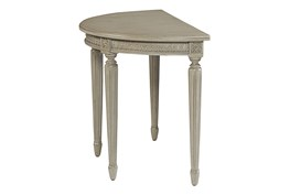 Magnolia Home Grace Demi Lune End Dining Table By Joanna Gaines