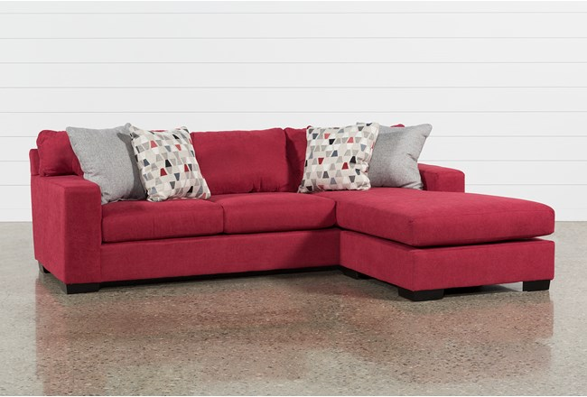 Reversible Sofa Colyn Sectional Sofa In Emerald Green And