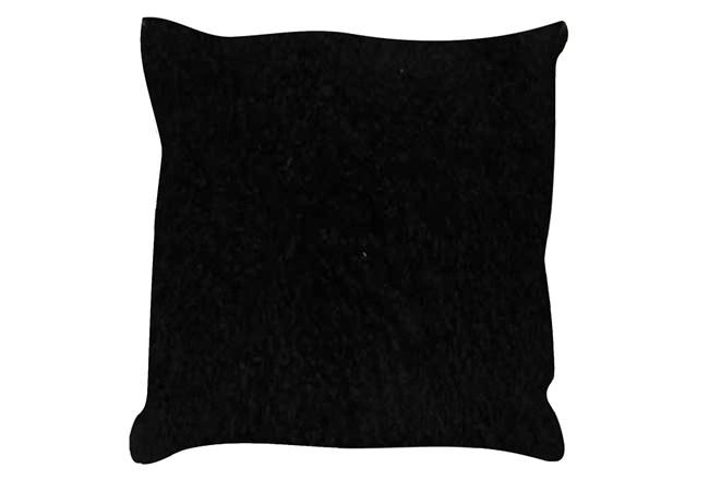 Accent Pillow-Mongolian Lambs Wool Black 18X18 - 360