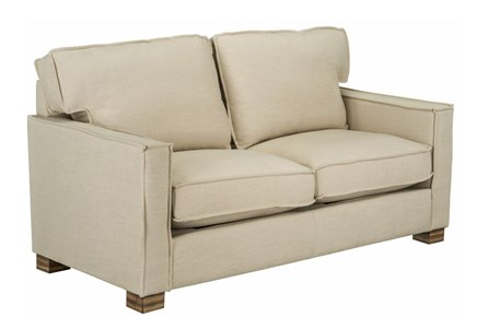 Magnolia Home Ravel Linen Loveseat
