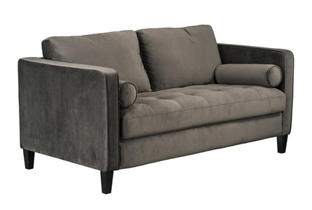 Magnolia Home Dapper Fog Loveseat