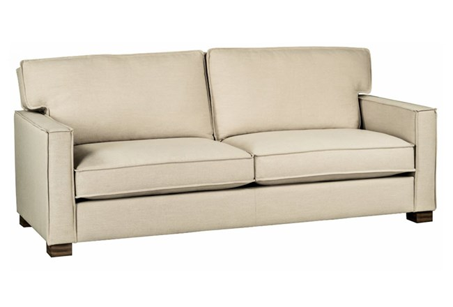 Magnolia Home Ravel Linen Sofa Living Spaces